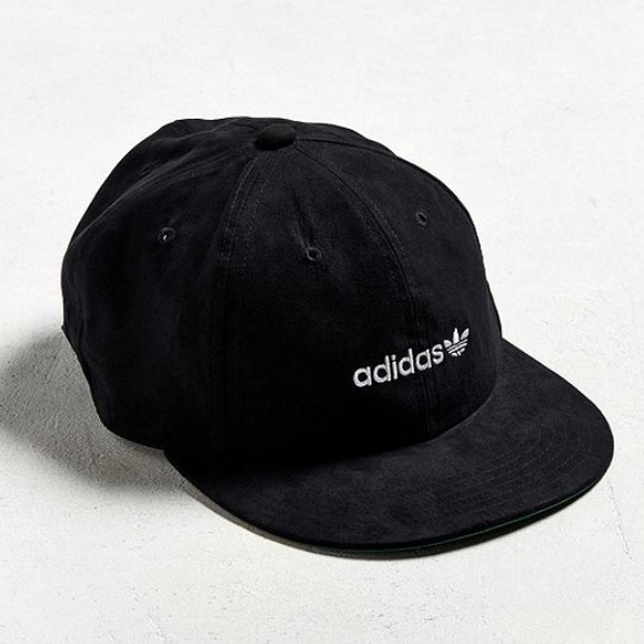 258cf56e34a  Adidas  Faux Suede Relaxed Strapback Hat